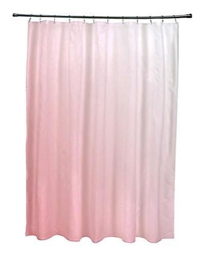 e by design Ombré Shower Curtain, Pink
