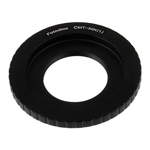 Fotodiox Lens Mount Adapter, C-Mount Lens To Nikon 1-Series Camera, Fits Nikon V1, J1 Mirrorless Cameras