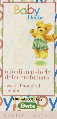 Baby Derbe Almond Massage Oil, 3.3 Ounce