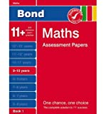 [Bond Maths Assessment Papers 9-10 Years Book 1] [by: J. M. Bond] J. M. Bond