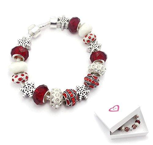 Christmas Bracelet Pandora Style