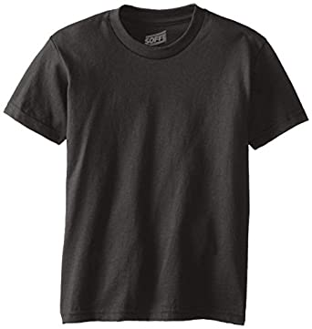 Buy MJ Soffe Boy's 8-20 Youth Pro Weight Short Sleeve Tee by Soffe