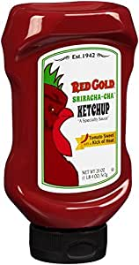 Amazon com red gold sriracha cha ketchup 20 oz squeeze bottle