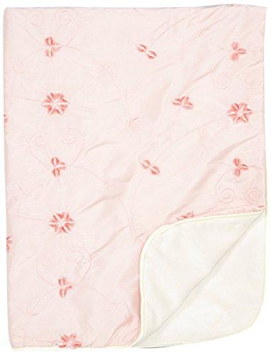 LUXE BABY Ballerina-Sweet Baby Blanket, Pink Blush