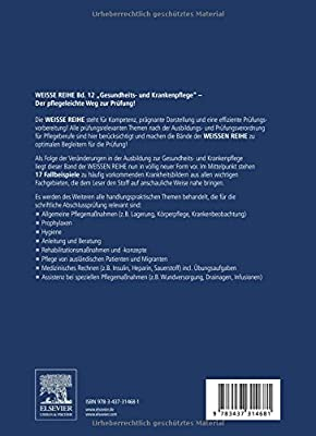Gesundheits- und Krankenpflege: Prüfungsvorbereitung für Pflegeberufe (Weisse Reihe)