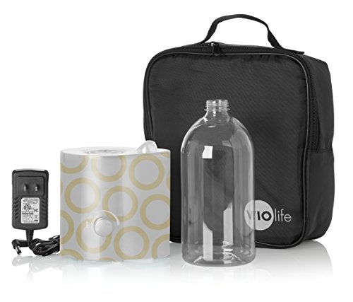 Violife VMH203KIT Personal Humidifier with Pouch and Water Bottle, Taupe - 1