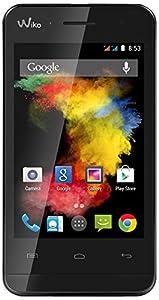 Wiko GOA Smartphone débloqué 3G+ (Ecran : 3.5 pouces - 4 Go - Android 4.4 KitKat) Noir