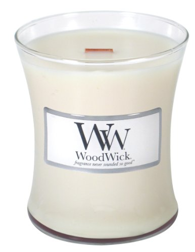 Woodwick 10oz Candle - Vanilla Bean