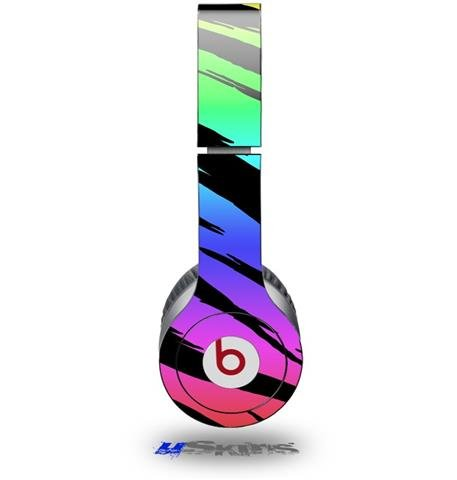 Tiger Rainbow Decal Style Skin (Fits Beats Solo Hd Headphones - Headphones Not Included)