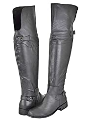 Yoki Avner Black Women Over The Knee Boots
