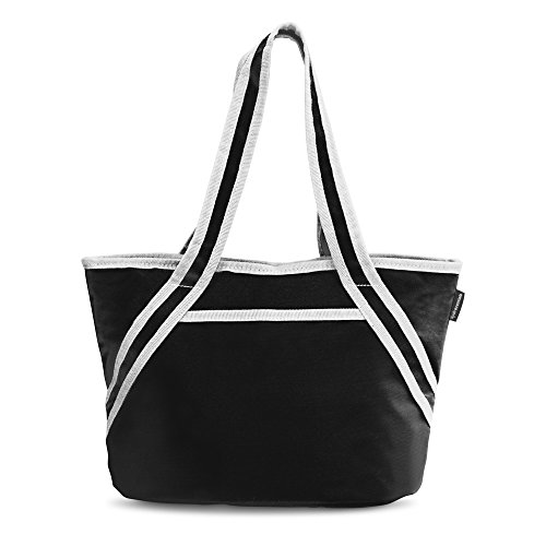 Hydracentials Stylish On The Go Lunch Tote, Black