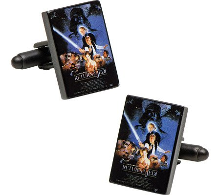Cufflinks Inc Men's Star Wars Episode 6 Movie Poster Cufflinks
