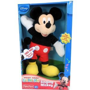 Fisher Price Mickey Mouse Singing Soft Plush