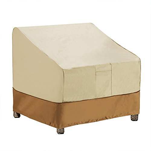 Villacera high quality patio adirondack chair cover beige for High quality adirondack chairs