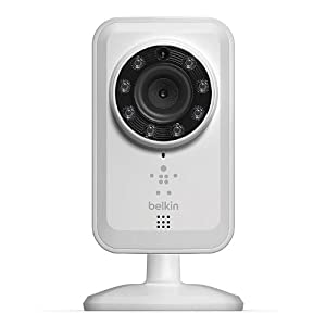 Belkin NetCam Wi-Fi Home Monitoring Camera with Night Vision by Belkin Logistics
