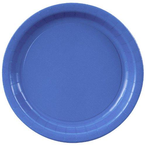 Creative Converting 24Ct 9' Blu Paper Plate 47145B Cups/Napkins/Plates Paper