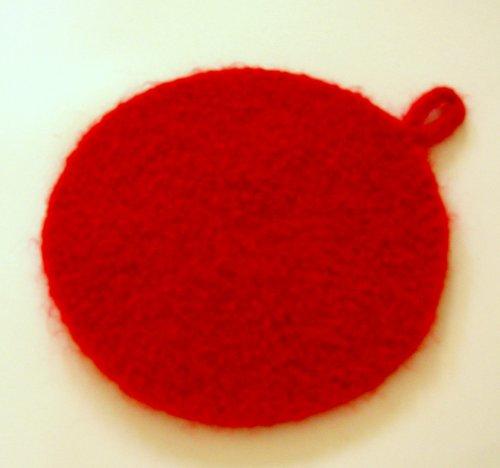 Felted Trivet Crochet Pattern
