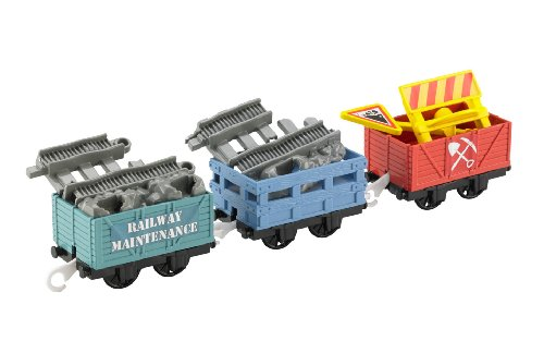 Fisher-Price Thomas The Train: Trackmaster Rugged Rails Repair Delivery - 1