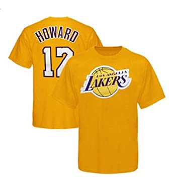 Dwight Howard Los Angeles Lakers Player T Shirt - Big and Tall Sizing by Majestic
