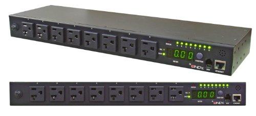 LINDY リモート電源制御スイッチ(IP Power Management) 8ポート