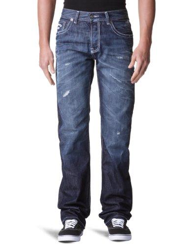 Kaporal Malcolm Straight Men's Jeans Crak W29 INxL32 IN