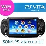 SONY ソニー  PS vita Wi-Fiモデル PCH-1000