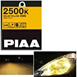 PIAA(ピア)  HY104 ソーラーイエロー2500 ハロゲンバルブ H3C SOLAR YELLOW 2500