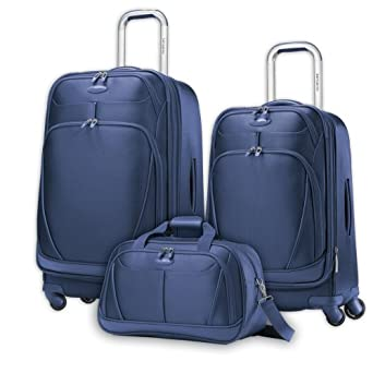 Samsonite X-Space 3pc Spinner Luggage Set - Navy