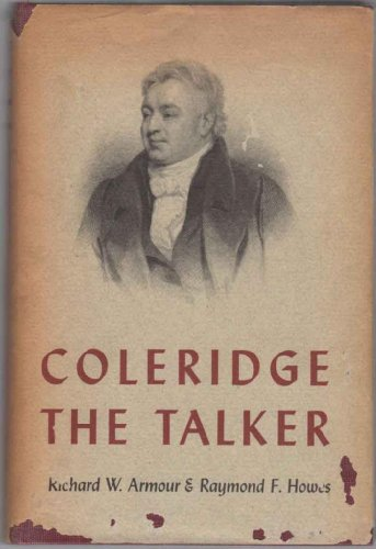 Colerdige the Talker: A Series of Contemporary Descriptions and Comments