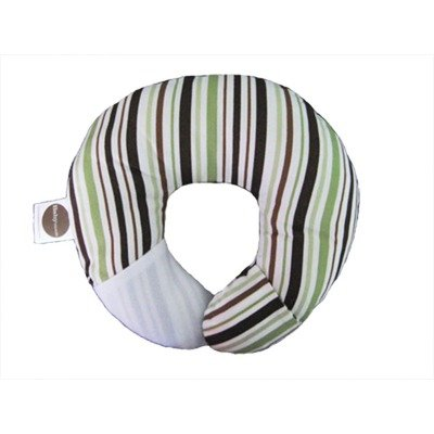 Find Discount Babymoon Pillow - For Flat Head Syndrome & Neck Support (Pistachio Stripe)