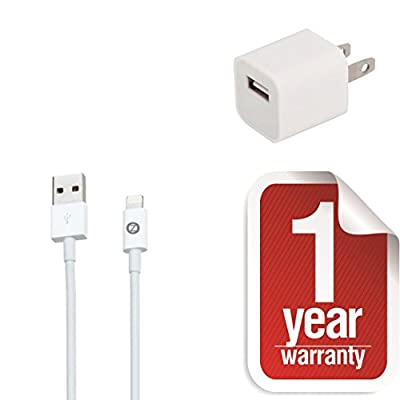 ZTstore iPhone 6 USB Cable -Lightning Cable 5ft (Five Feet, 1.5 Meter) Element Series 8 pin to USB SYNC Cable Charger Cord for Apple iPhone 5 / 5s / 5c / 6 / 6 Plus, iPod 7, iPad Mini / mini 2/ mini 3, iPad 4 / iPad Air / iPad Air 2(Compatible with iOS 8)