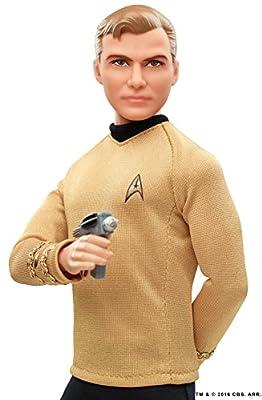 Barbie Star Trek 50th Anniversary Kirk Doll from Mattel