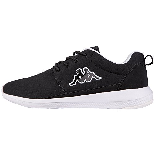 KappaSPEED II JERSEY Footwear unisex - Sneaker Unisex - adulto , Nero (Nero (1110 nero/bianco)), 44