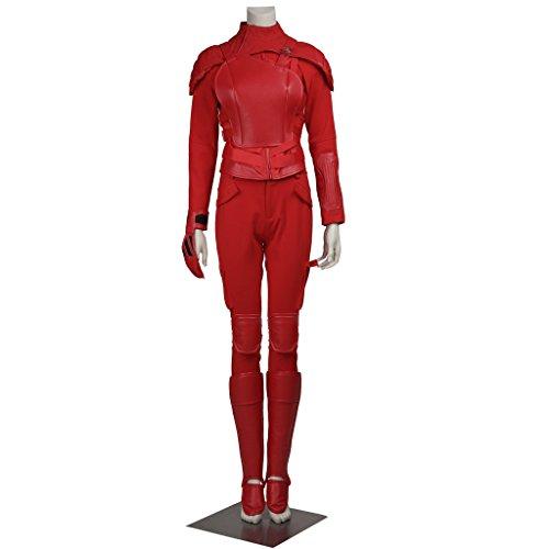 CosplayDiy Women's Suit for The Hunger Games III Mockingjay Cosplay M (Katniss Everdeen Halloween Costumes)