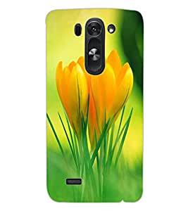ColourCraft Lovely Flowers Design Back Case Cover for LG G3 BEAT