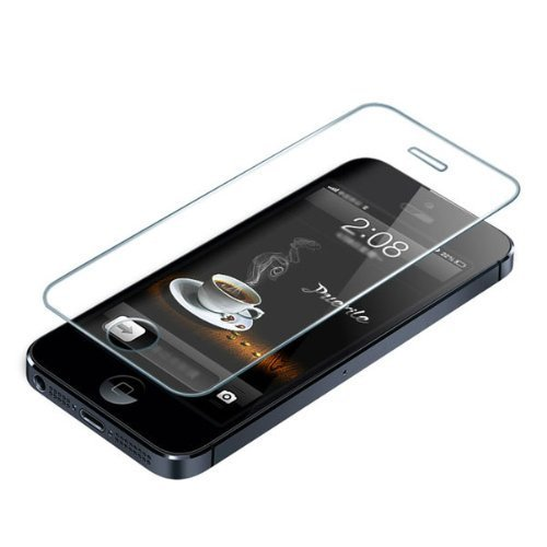 Premium Tempered Glass Screen Protector Skin Cover for iPhone 5 5S