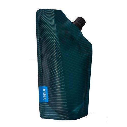 vapur-after-hours-incognito-flask-teal-blue-10oz-flexible-wine-bottle-w-pourer