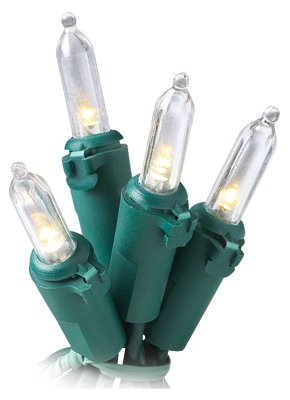 Noma/Inliten-Import 40815-88 Christmas Lights Set, Mini Warm White Led, 200-Ct. - Quantity 6