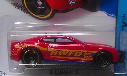 Hot WheelS 2014 10 Camaro SS red Wheel Variation HW City #42/250 VHTF R@RE Moc! (Camaro 2014 Hot Wheels compare prices)