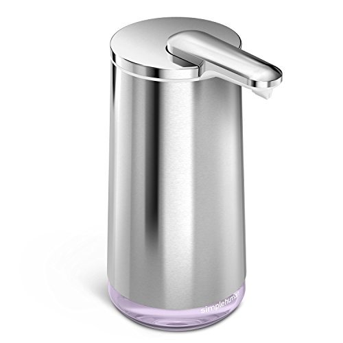 simplehuman Foam Cartridge Sensor Pump With Lavender Hand Soap, High-Grade Stainless Steel (The Dispenser Cartridge compare prices)