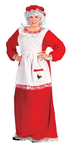 Fun World Costumes Women's Plus-Size Plus Size Adult Mrs.Claus Promo Suit
