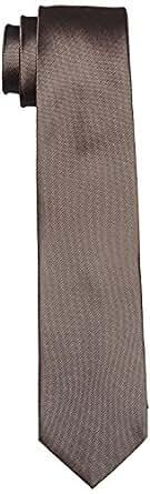 CASAMODA Herren Krawatte 003540 Gr. One Size (Herstellergröße: os) Beige (beige 600)