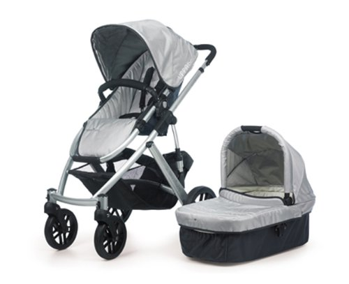 Best Buy! UPPAbaby Vista Stroller, Silver/Mica