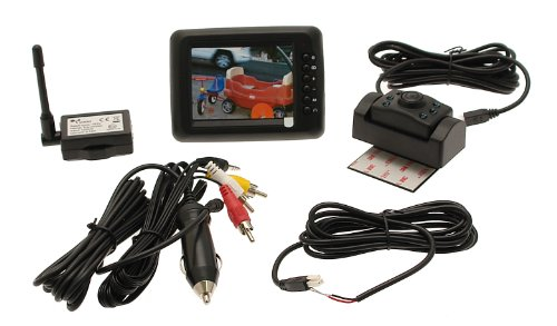 Winplus BT13107-1 Wireless Vehicle Backup Camera with 3.5
