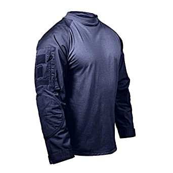 Navy Blue Tactical Combat Shirt, Size Small