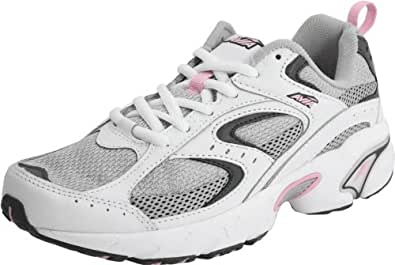 AVIA Women's A5018W Running Shoe,White,6 W US