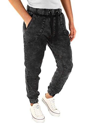 herren jogger denim sweathose jeansoptik sweatpants jogginghose jeans. Black Bedroom Furniture Sets. Home Design Ideas