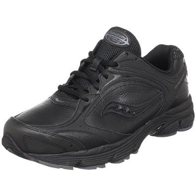 Saucony Men's ProGrid Echelon LE Walking Shoe,Black/Grey,7 M US