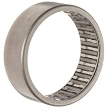INA Needle Roller Bearing, Caged Drawn Cup, Steel Cage, Open End, Metric