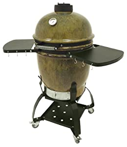Bayou Classic Cypress Ceramic Grill With Cart by Bayou Classic
